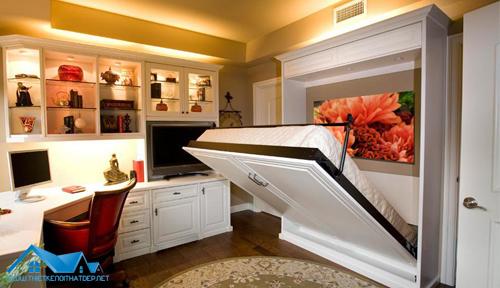 10 mẫu giường ngủ thiết kế thông minh nhất thế giới